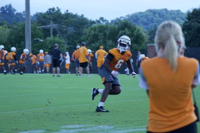 Football Fall Camp: Day 1