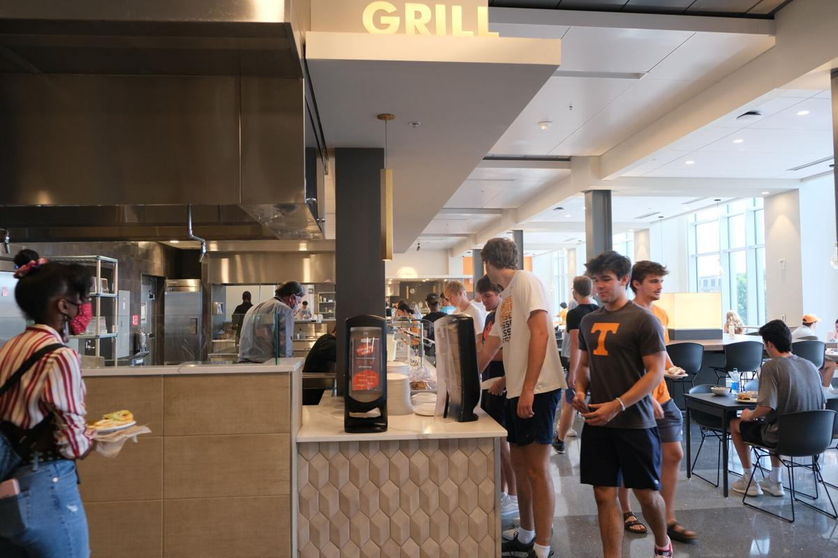 West Campus Dining - Students Eating