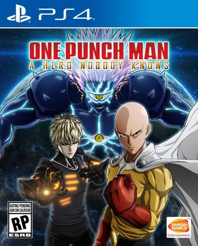 One Punch Man: A Hero Nobody Knows Cover
