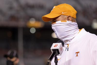 Jeremy Pruitt postgame - Tennessee vs. South Carolina