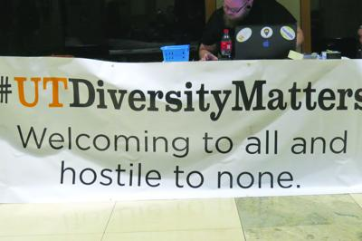 Diversity Matters banner signing 3-3-2016 Hodges library 02