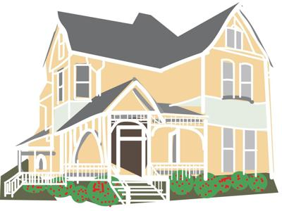 Victorian home icon