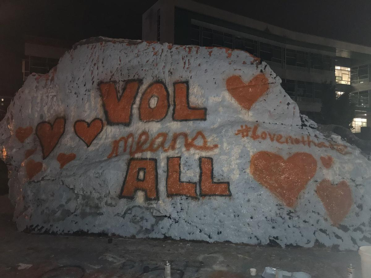 Vol Means All Rock Message