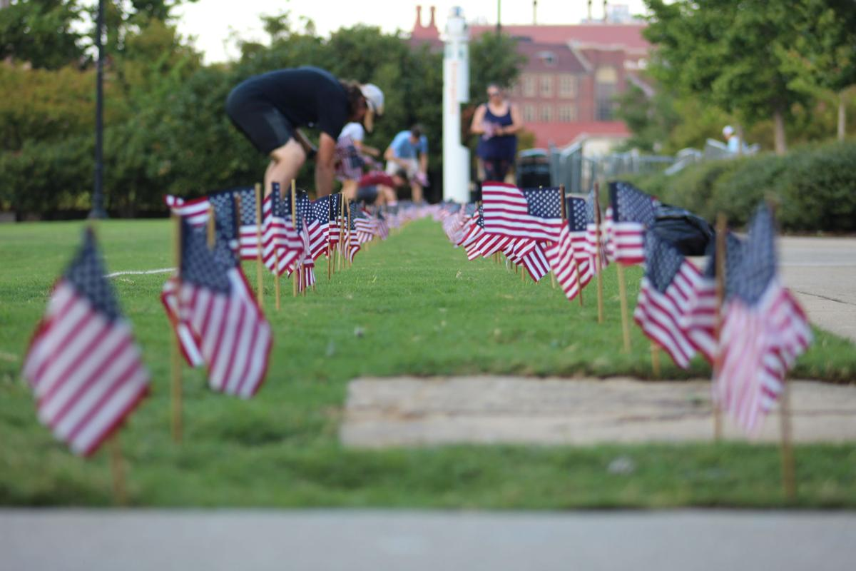 9/11 Memorial Flags