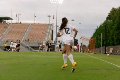 Claudia Dipasupil against High Point soccer