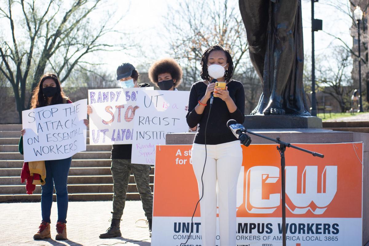Student activist feature