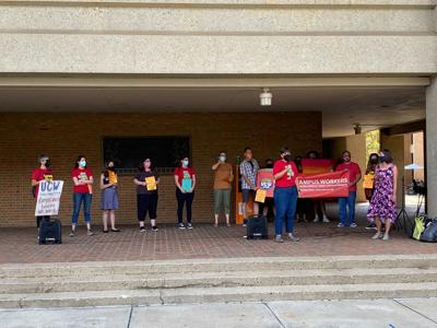 UCW/AAUP press conference