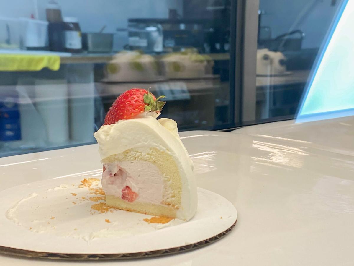 Hello Tea House bomb cake