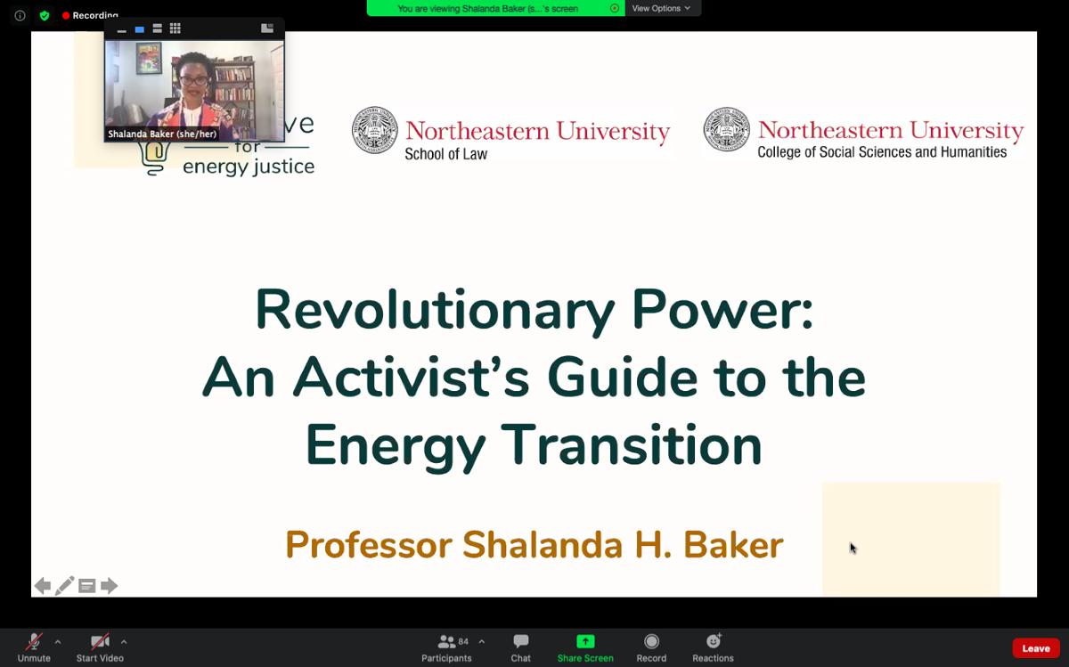 Shalanda Baker Lecture
