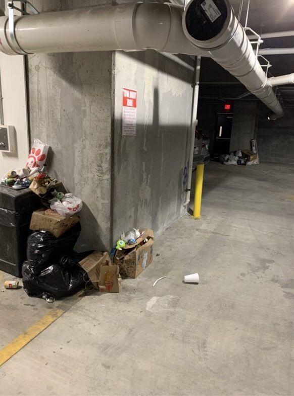 Aspen heights trash 1