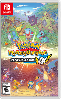 Pokemon: Mystery Dungeon Rescue Team DX Cover Art