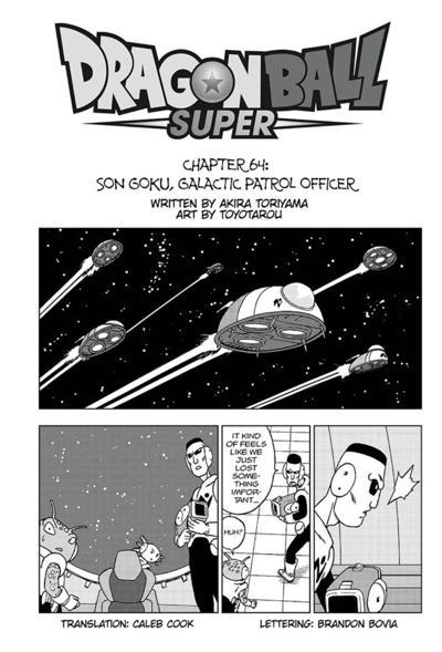 Dragon Ball Super ch 64