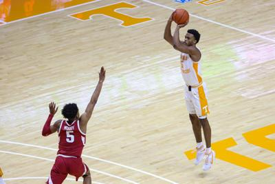 Josiah Jordan James- Arkansas at Tennessee