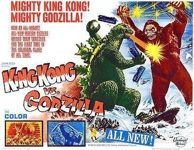 Godzilla vs Kong original