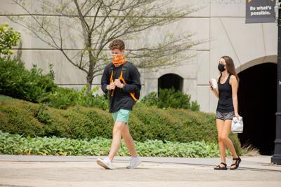 Students Social Distancing/Wearing Masks
