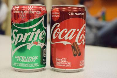 Sprite and Coca Cola Holiday Flavors