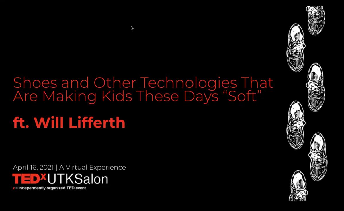 TEDxUTK Will Lifferth
