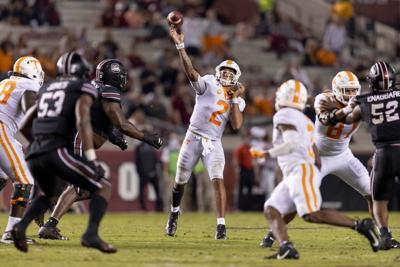 Jarrett Guarantano- Tennessee vs. South Carolina