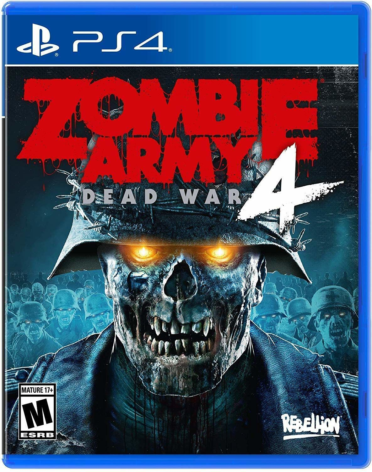 Zombie Army 4 Cover