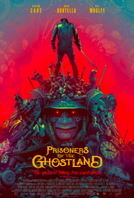 prisoners of the ghostland movie poster