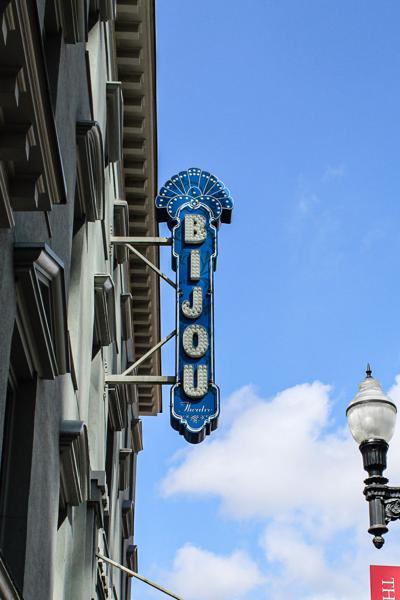 Bijou Sign for Erick Baker