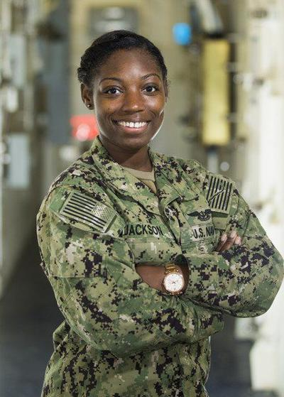 Valdosta native serves aboard nation's newest floating airport at sea