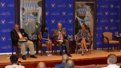 U.K., Canada defend U.S. media freedom