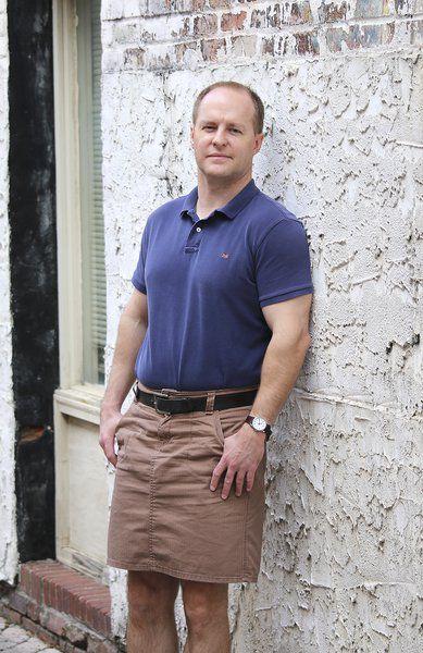 Картинка мужчина в юбке