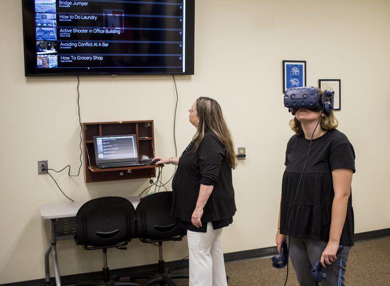 Bringing VR to VSU: Students experience virtual classrooms