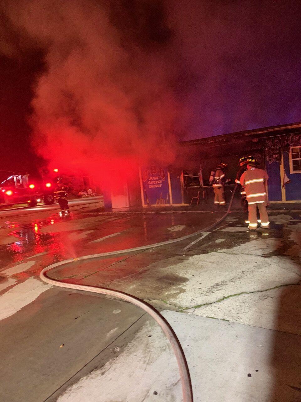 VFD investigating West MLK Drive fire 002