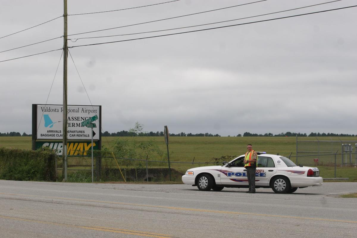 airport road closed