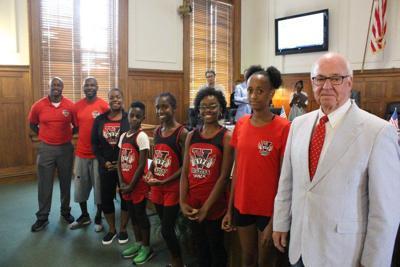 Valdosta Mayor honors local athletes headed to 2019 National AAU Junior Olympics