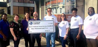 Leadership Lowndes working with veterans