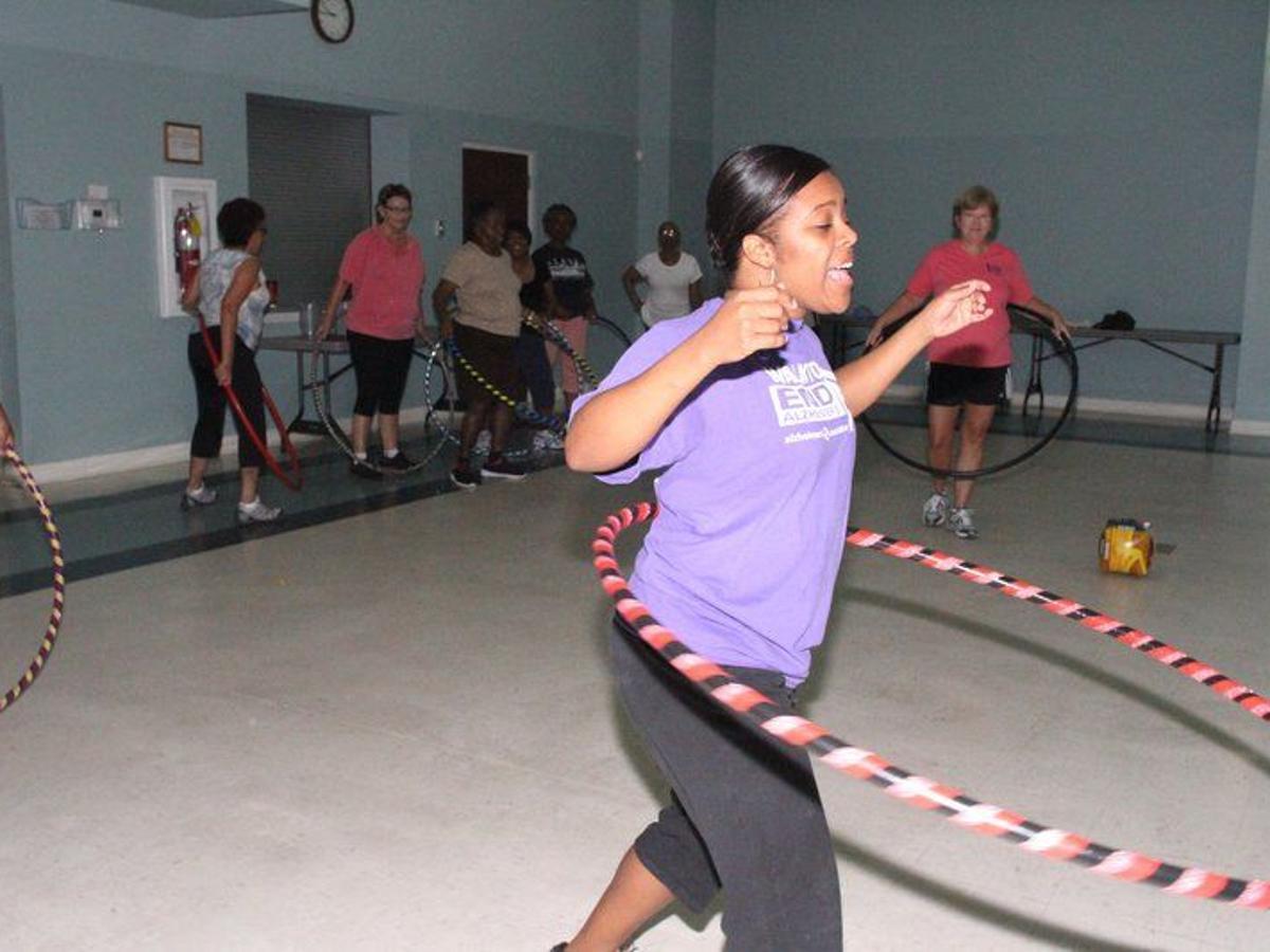Hula Hooping Seniors Participate In Weekly Class Local News Valdostadailytimes Com
