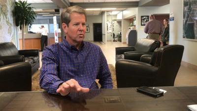 Kemp: Voter suppression story 'manufactured'