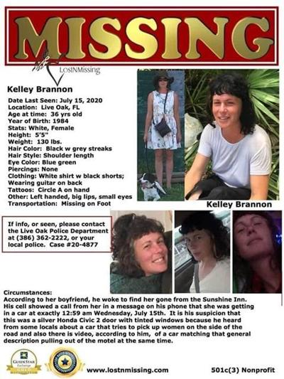 Kelley Brannon missing person