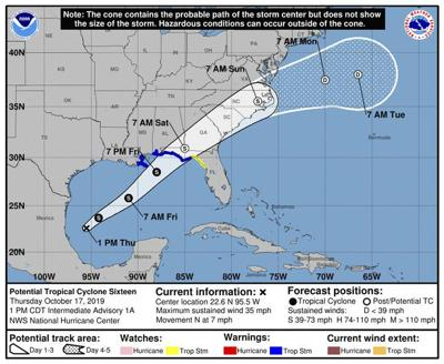 All eyes on storm forming in Gulf of Mexico