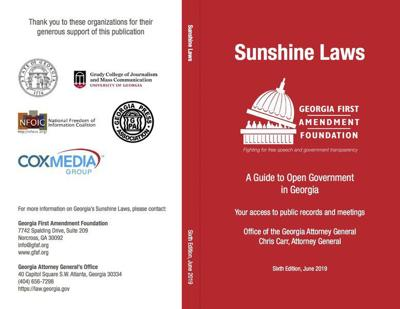 Red Book catalogs Georgia open government laws