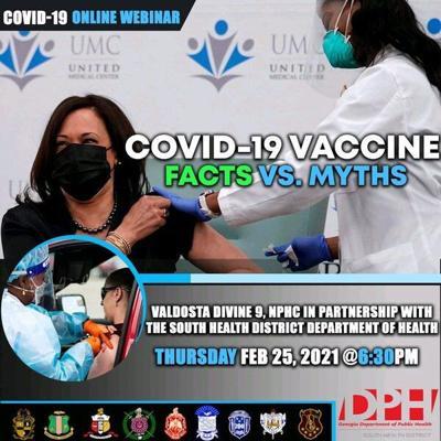 COVID-19 Webinar scheduled