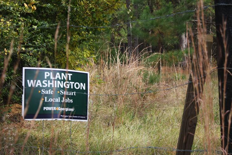 Plant Washington sign
