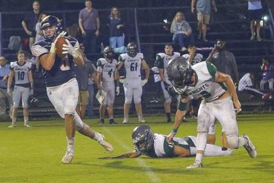Senior Harrison Hamsley emerges as a top weapon for the Valiants