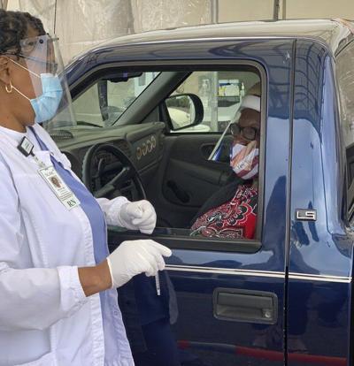 SGMC opens vaccine drive-thru