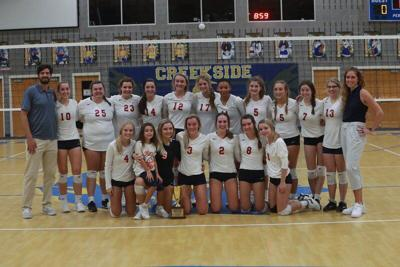 Valwood Volleyball claims its first state championship