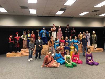 Valwood stages 'Aladdin'