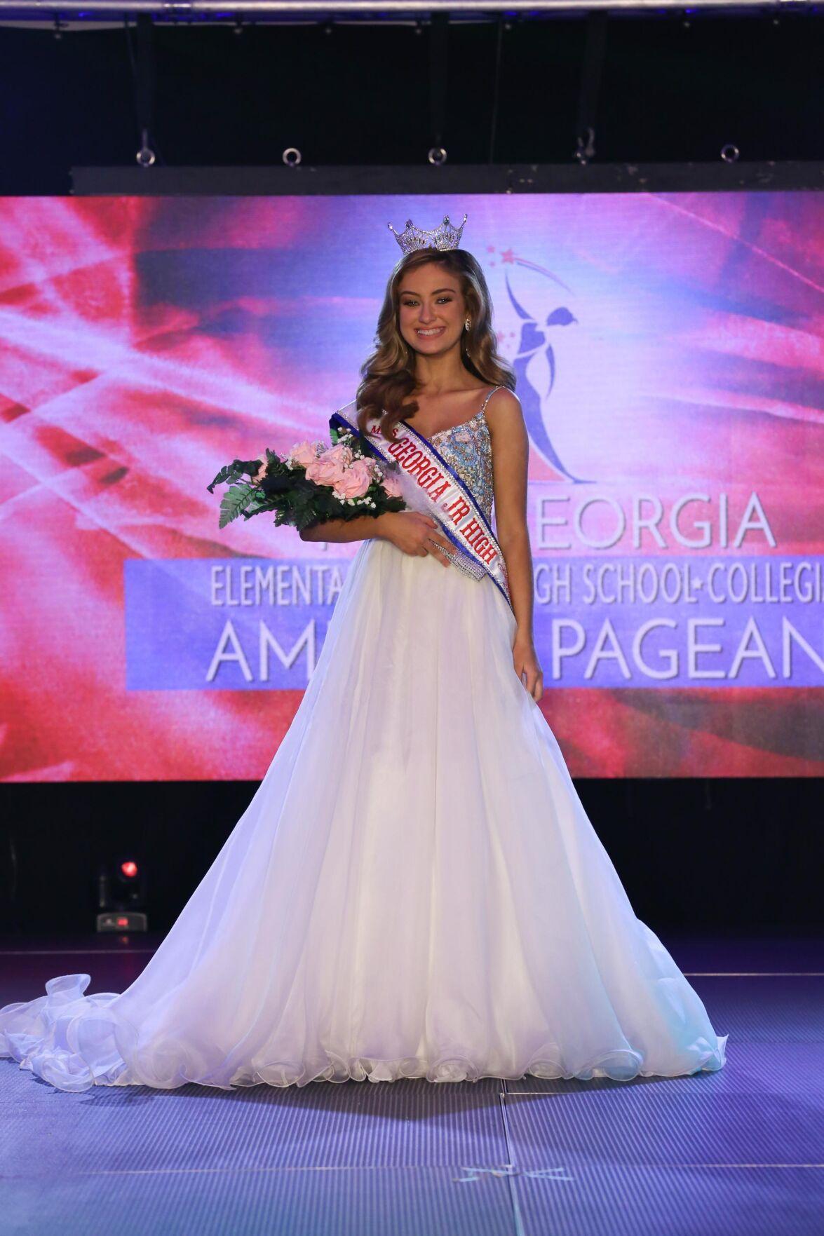 Valdosta girls win state pageant titles