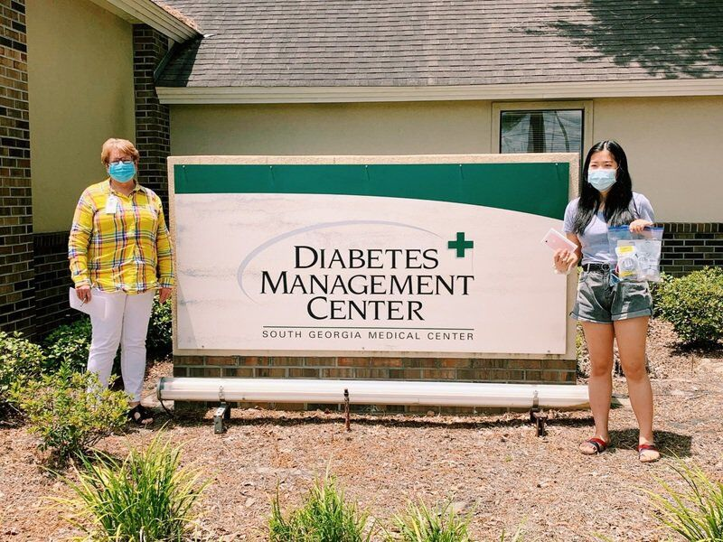 Lowndes native helps senior citizens during pandemic