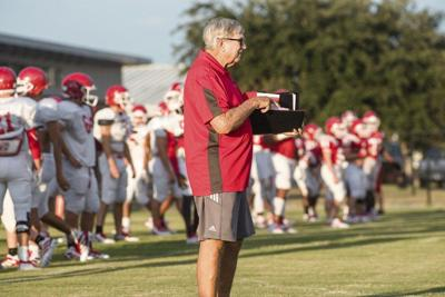 Back in the Game: Five-time state champion coach Pilcher returns to Berrien as OC