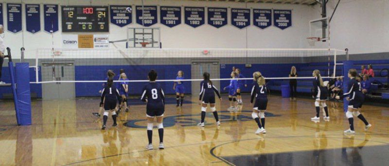 Lady Generals volleyball dominates in first home games