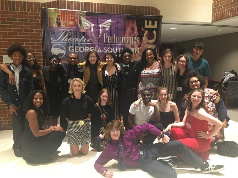 VHS Drama attends theatre conference