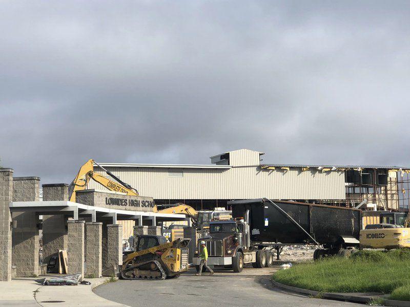 LHS demolition almost done